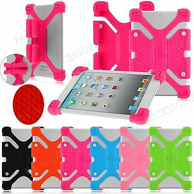 Universal 7'' 8'' 9'' 10.1'' Inch Tablets Case Flexible Strechy PC Silicon Cover