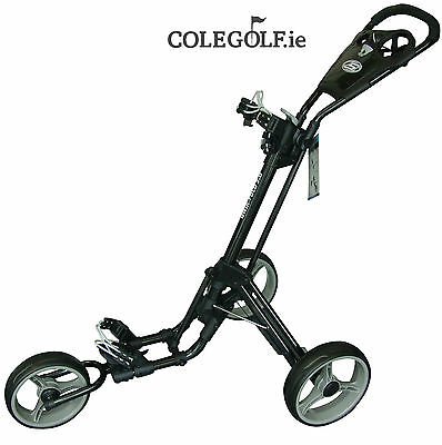 Skymax Qwik Fold 3 Wheel Trolley - Black/Grey