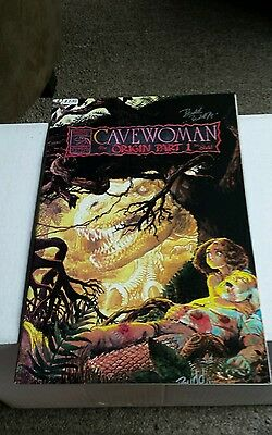 Cavewoman #3  Signed By Budd