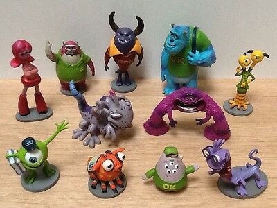 Monsters inc ~ Monsters University Figures Bundle ~ Ideal Cake Toppers