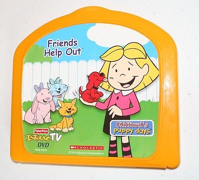 InteracTV Fisher Price Clifford Friends Help Out Game DVD For InteracTV System