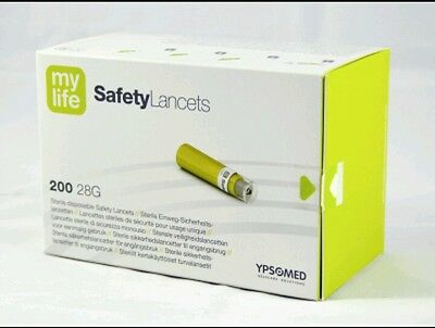 Mylife Safety Lancets 1X200 New And Sealed