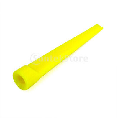 25pcs Yellow 2.8 inch 7cm Plastic Golf Tees Golfer Golfing Club Strong Wedge