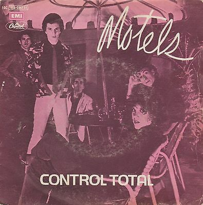 MOTELS - Control total / Dressing up * SINGLE 1980 SPANISH P/S NEW WAVE