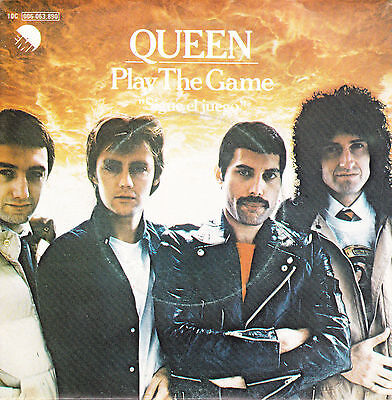 QUEEN - Play the game (Sigue el juego) / A human body * SINGLE 1980 SPANISH P/S