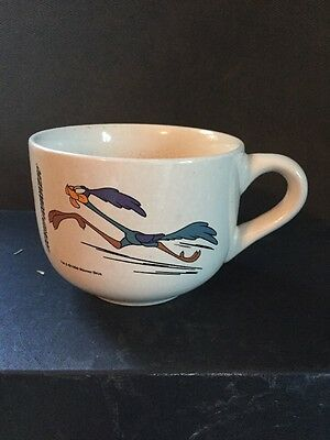 Road Runner Looney Tunes TM & 1998 Warner Bros. Big Cup Large Mug