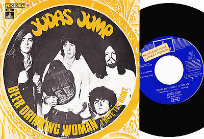 JUDAS JUMP - Beer drinking woman / I have the right SINGLE SPAIN PROMO 1970 PROG