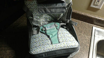 FIRST YEARS Portable On the Go Booster Seat Feeding Chair