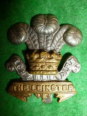 The Leinster Regiment (The Royal Canadians) Cap Badge, WW1 Irish