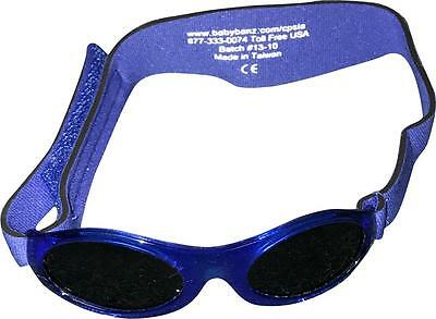 Baby Banz Adventurer Sunglasses 100% UVA/UVB Protection (Ages 0-2yrs) Blue (S.S)