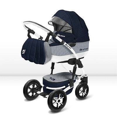 Pram, Pushchair, Buggy BabyActive Shell Eko 3 in 1/ travel system/ 2017 colours