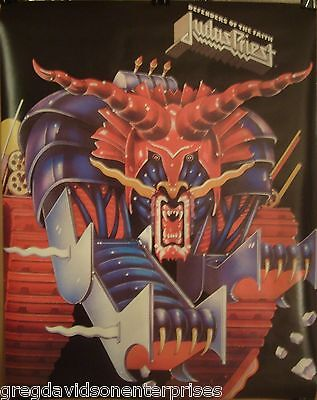 Judas Priest 22x28 Defenders Of The Faith Cover Art 1984 Poster