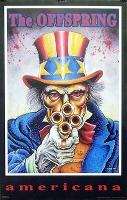 The Offspring 23x35 Americana Poster 1999 Uncle Sam