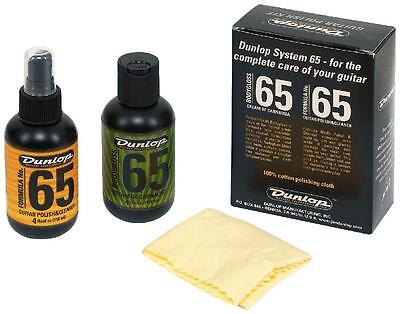 Jim Dunlop JD6501 Form 65 Wood Care Kit JD-6501 - Includes Cotton Cloth