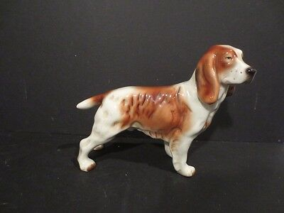 Vintage Gold Crest (Goldscheider) Springer Dog Figurine