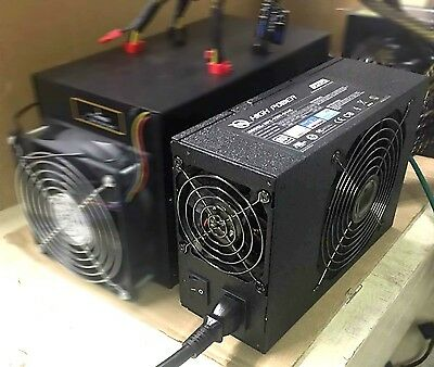 NEW 1200W 80+ 4x PCIE Power Supply for Bitmain Antminer S3 S5 Bitcoin Mining Rig