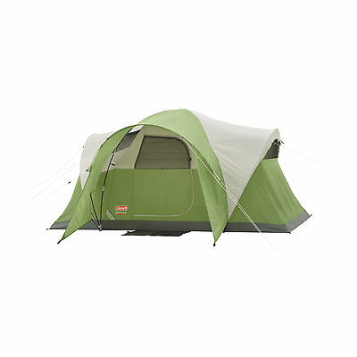Coleman Montana 6 Person Dome Cabin Outdoor Camping Tent 12' x 7' 2000001593