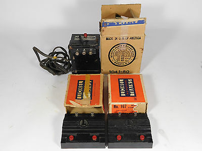 Lionel 1041 Transfomer And 167 Whistel Controller