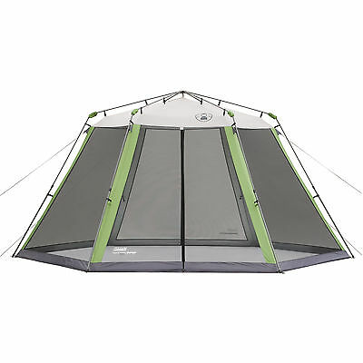 Coleman 15' x 13' Outdoor Instant Screened UV Guard Canopy w/ Bag 2000004414