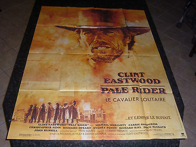 "PALE RIDER Original Movie Poster, 45.5"" x 61.75"", C8.5 Very Fine to Near Mint"