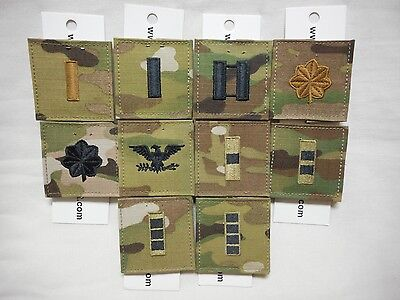 Multicam Scorpion Ocp Uniform Officer Rank With Fastener