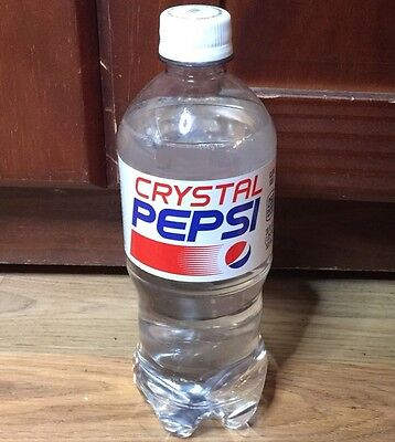 5 Crystal Pepsi Cola! (5) 20oz Bottle! In Stock 2016! Rare! Sold Out Everywhere!