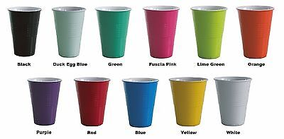 NEW 4 x Avanti - Miami Melamine 400ml Two Tone Cup x 4 Multi Color
