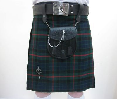 Gunn Tartan Scottish Highland Wear Traditional New Kilts