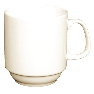 Olympia Ivory stapelbare Becher 28,5cl