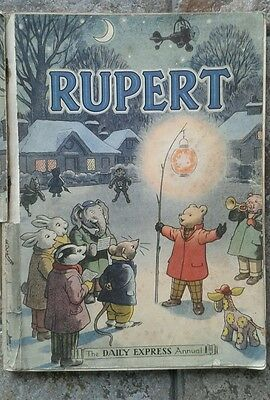 Rupert 1949 Daily Express Paperback Annual by Bestall VGC