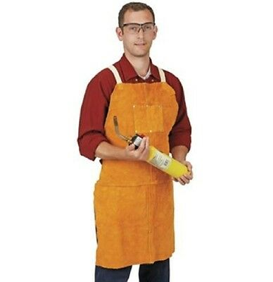 Split Leather Welding Apron Protective Clothing Carpenter Blacksmith Gardening
