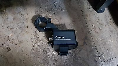 Canon MA-300 Dual XLR Microphone Adapter and Holder f/ GL2 and XL2 Camcorders