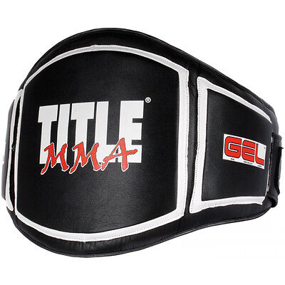 Title MMA Gel Belly Protector