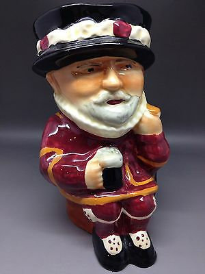 Shorter & Son Beefeater Toby Jug - 18.5 Cm Tall