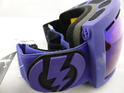 Electric EG2.5 Snow Goggles Matte Violet - Bronze/Blue Chrome New in Box
