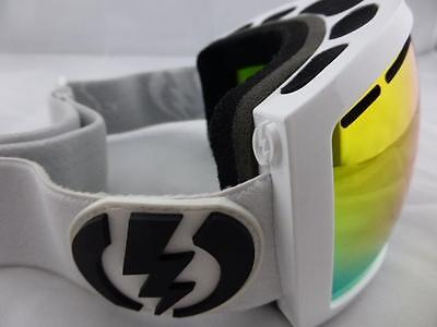 Electric EG2.5 Snow Goggles Gloss White - Bronze/Red Chrome New in Box