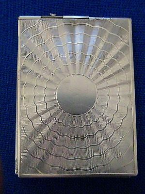 Antique English Sterling Silver Card Case     C134