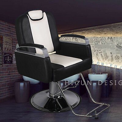 All Purpose Hydraulic Recline Barber Chair Salon Styling Beauty Spa Equipment