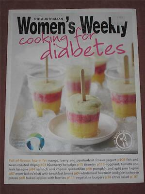 Womens Weekly Cooking For Diabetes Cookbook Recipes Glycaemic Index Values Chef