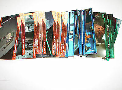 Star Wars Trilogy collection widevision set of 72 NM trading cards Topps