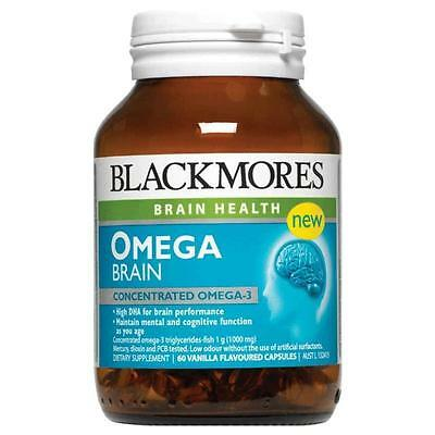 Blackmores Omega Brain Health 60 Capsules