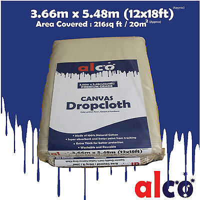 Brand New Extra Thick Heavy Duty Drop Sheet  3.66mx 5.48m( 12x18ft)