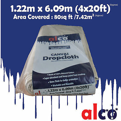 New ALCO brand Extra Thick Staircase Drop Sheet 1.22m x 6.09 m (4x20 ft)