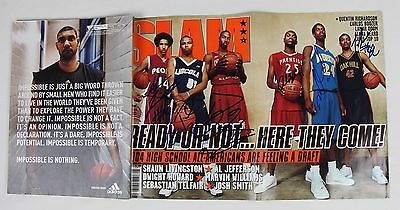 Dwight Howard and Five Others NBA Players Signed Autographed SLAM Magazine COA