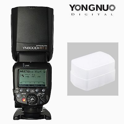 Yongnuo YN600EX-RT II TTL Wireless Speedlite Master Flash & Diffuser For Canon