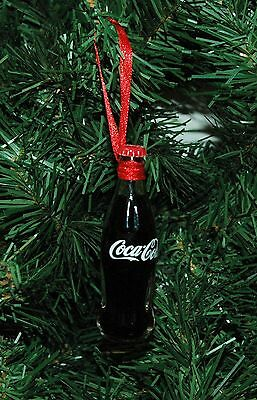Coke, Coca Cola Glass Bottle Christmas Ornament New with Tags