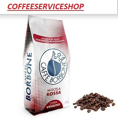 24 Kg Caffe' Borbone In Grani Miscela Red Vending - Originale -