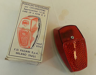 tail light universal moped CEV included bulb 1 6 volt x 3 w