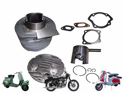 NEW LAMBRETTA 175 cc SCOOTS SMALL BLOCK PERFORMANCE ALLOY CYLINDER KIT @AUD