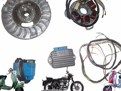 Lambretta 12V Electronic Ignition Kit Gp Dl Small Cone Type+Wiring @aud